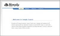 Simply Transit Ltd - Site Screenshot