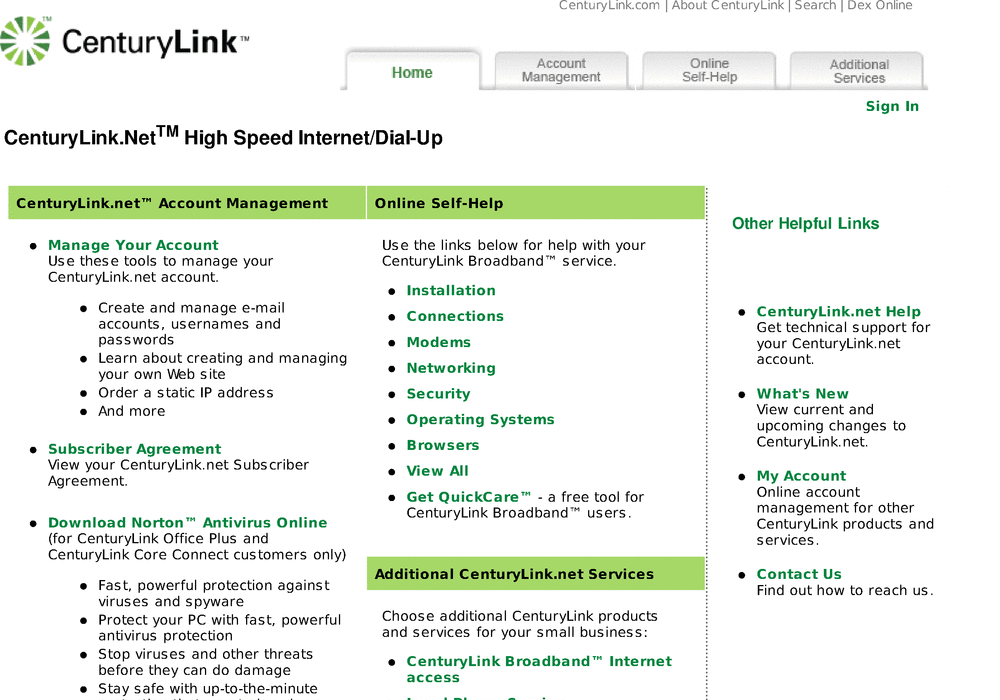 Centurylink Net Login >> Qwest Communications Company Llc Hosting Qwest
