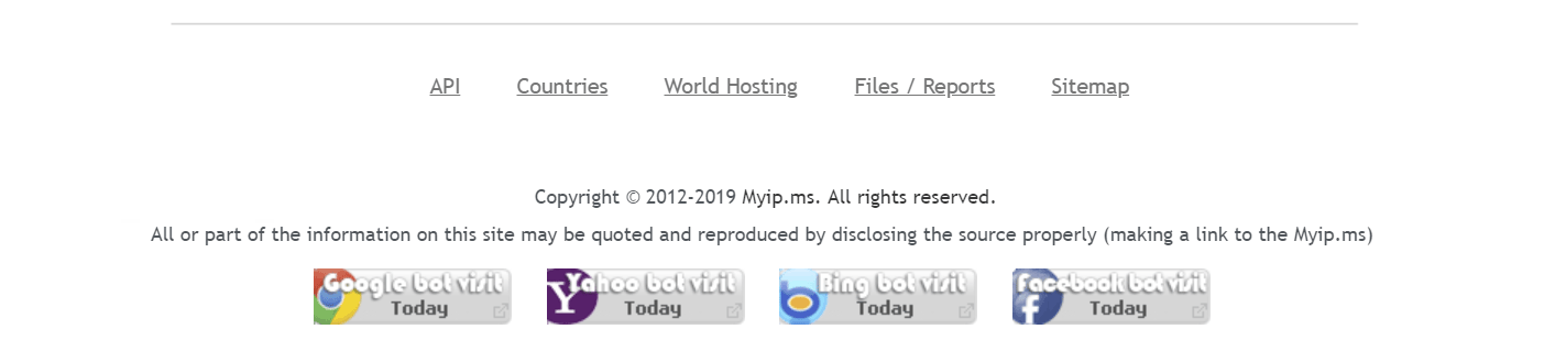 Myip.ms - IP Whois Database